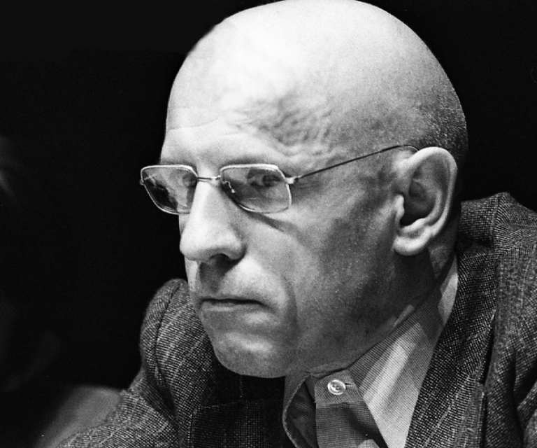 Michel Foucault Centre Pompidou 1979